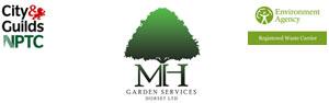 MH Garden Services Logo